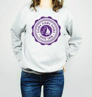 Sigma Sigma Sigma Seal Crewneck Sweatshirt