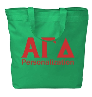 Alpha Gamma Delta Design Your Own Tote Bag