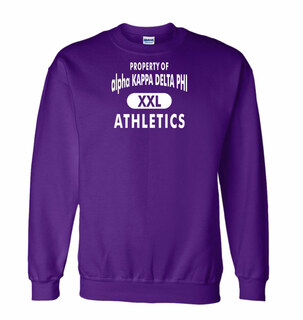 alpha Kappa Delta Phi Athletics Crewneck Sweatshirt