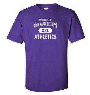 alpha Kappa Delta Phi Athletics T-Shirt