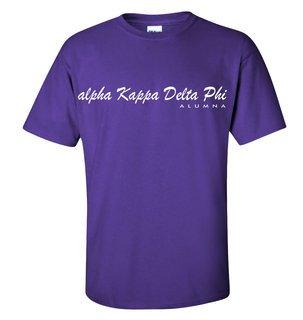 alpha Kappa Delta Phi Script T-Shirt