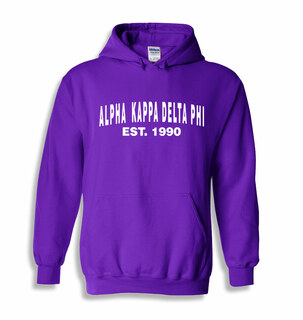 alpha Kappa Delta Phi Since Hooded Sweatshirts