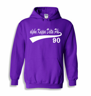alpha Kappa Delta Phi Tail Hooded Sweatshirts