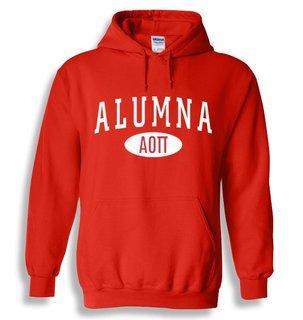 Alpha Omicron Pi Alumna Sweatshirt Hoodie