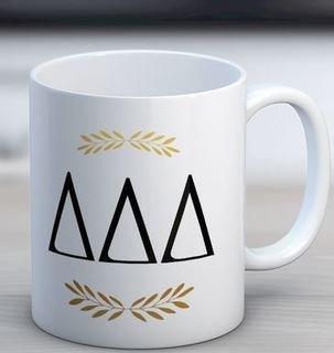Delta Delta Delta Letter Coffee Mug