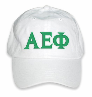Alpha Epsilon Phi Greek Letter Hat