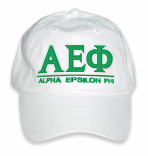 Alpha Epsilon Phi World Famous Line Hat