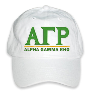 Alpha Gamma Rho World Famous Line Hat
