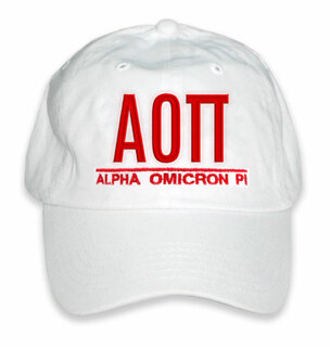 Alpha Omicron Pi World Famous Line Hat