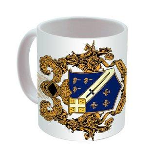 Alpha Phi Omega Mega Crest - Shield Coffee Mug