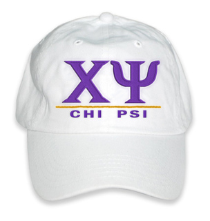 Chi Psi World Famous Line Hat