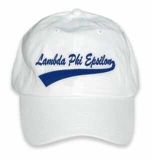 Lambda Phi Epsilon New Tail Baseball Hat