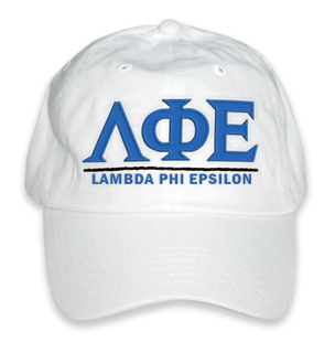 Lambda Phi Epsilon World Famous Line Hat
