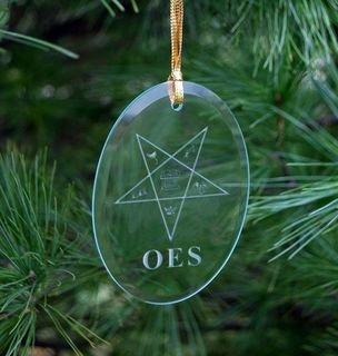 Order Of Eastern Star Ornament