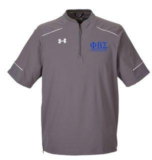 Phi Beta Sigma Under Armour�  Men's Ultimate Short Sleeve Fraternity Windshirt