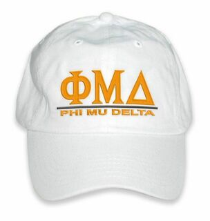 Phi Mu Delta World Famous Line Hat