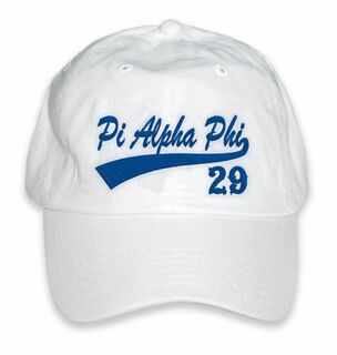 Pi Alpha Phi New Tail Baseball Hat