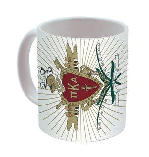 Pi Kappa Alpha Mega Crest - Shield Coffee Mug
