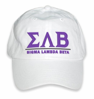 Sigma Lambda Beta World Famous Line Hat
