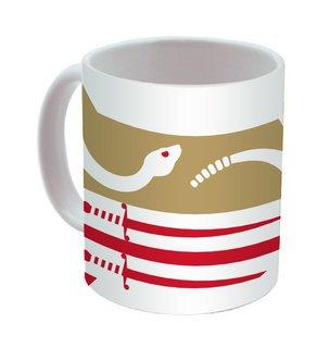 Theta Chi Mega Crest - Shield Coffee Mug