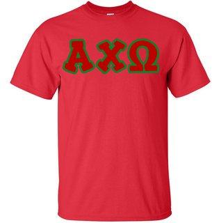 Alpha Chi Omega Bubble Twill T-Shirt