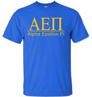 Alpha Epsilon Pi bar tee