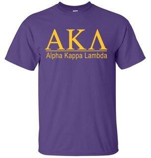 Alpha Kappa Lambda bar tee