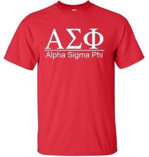 Alpha Sigma Phi bar tee