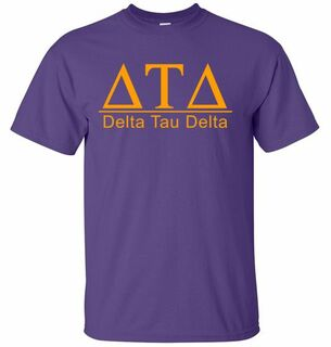 Delta Tau Delta bar tee