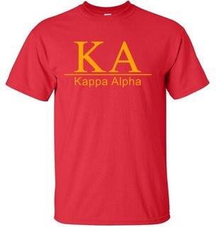 Kappa Alpha bar tee