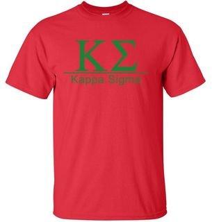 Kappa Sigma bar tee