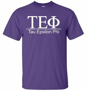 Tau Epsilon Phi bar tee