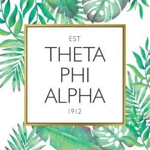 Theta Phi Alpha Tropical Sticker Decal