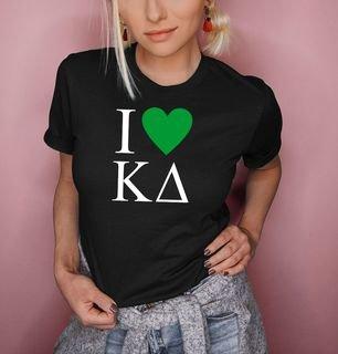 I Love Kappa Delta T-Shirts