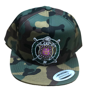 DISCOUNT-Omega Psi Phi Camouflage New Era