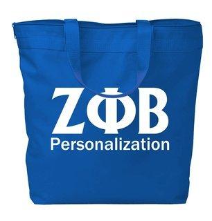 Zeta Phi Beta Design Your Own Tote Bag