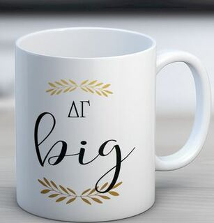 Delta Gamma Big Coffee Mug