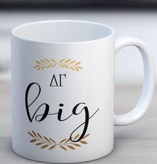 Delta Gamma Big Coffee Mug