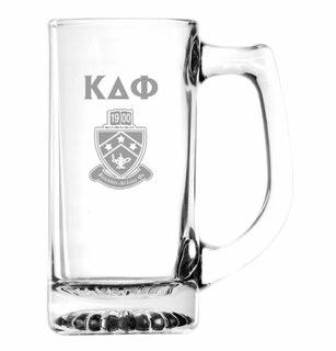 Kappa Delta Phi Glass Engraved Mug