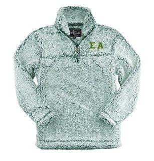 Sigma Alpha Sherpa Quarter Zip Pullover