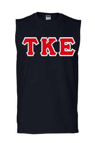 Lettered Sleeveless Tee