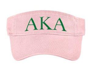 Alpha Kappa Alpha Greek Letter Visor