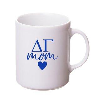 Delta Gamma White Personalized Coffee Mug