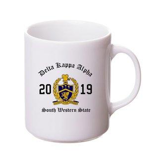 Delta Kappa Alpha Crest & Year Ceramic Mug