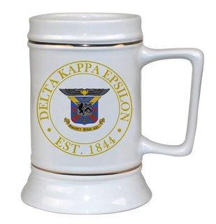 Delta Kappa Epsilon Ceramic Stein