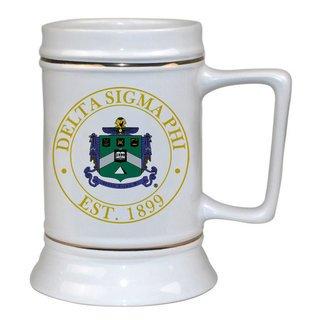 Delta Sigma Phi Ceramic Stein