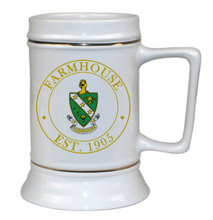 FarmHouse Fraternity Ceramic Stein