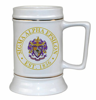 Fraternity Ceramic Steins