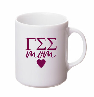 Gamma Sigma Sigma White Personalized Coffee Mug