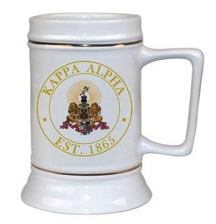 Kappa Alpha Ceramic Stein
